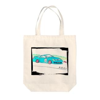 Ryotaのオリジナルレーシングカー36 Tote bags