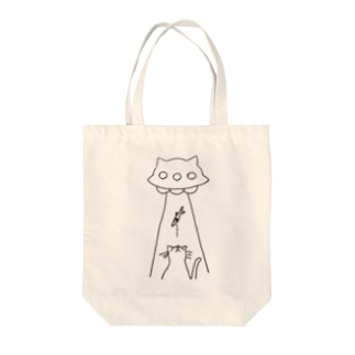 UFOキャッチ Tote bags