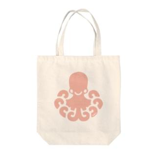 タコ Tote bags