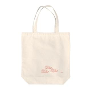 くも Tote bags