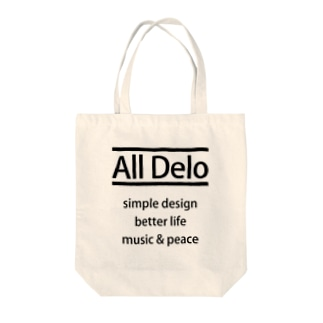 All Delo - better life Tote bags