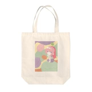 マカロン好きな女の子 Tote bags