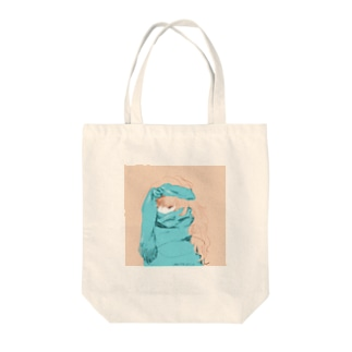 おしゃれターバン Tote bags