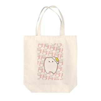 乳歯ちゃん Tote bags