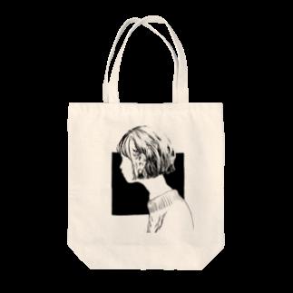 misの横顔 Tote bags
