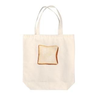 ei/azmの食pan Tote bags