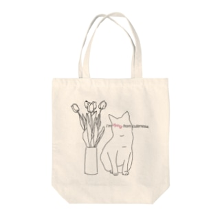 猫が可愛すぎて死にそう Tote bags