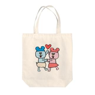 ねんたん&ねみこちゃん Tote bags