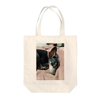 てすと Tote bags