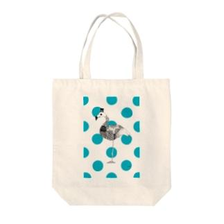 フラミンゴ Tote bags