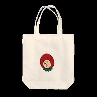 Yuwiiの店のいちごの妖精さん Tote bags