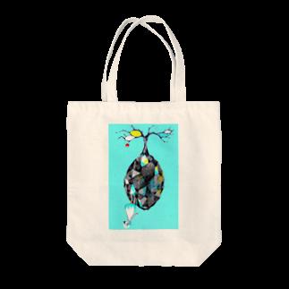 幽ユウの万有引力 Tote bags