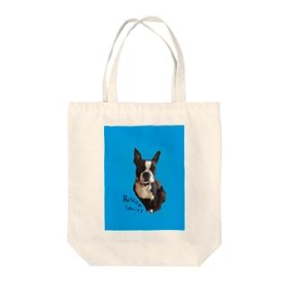 ボストンテリアLOVE Tote bags