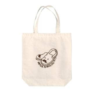スリッポン男爵 Tote bags