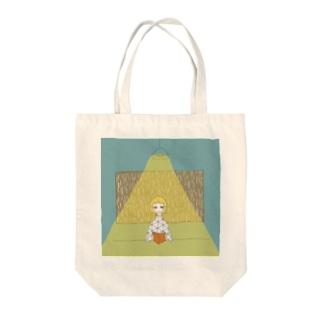 いい日雨の日いい天気 Tote bags