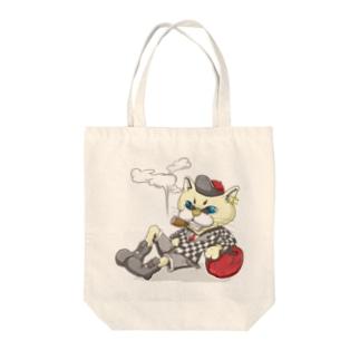 陽気な猫 Tote bags