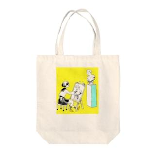 石膏デッサン Tote bags