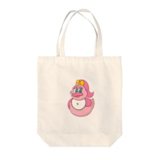ミライちゃん(仮) Tote bags