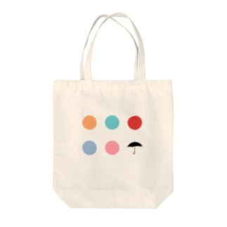 Ame dots Tote bags