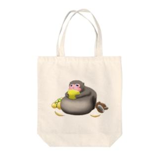 【可愛い好き必見】デブサル Tote bags