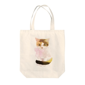 よそいき三毛猫さん Tote bags