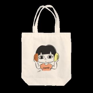 miki_kinocoのあんぱんとメロンパン Tote bags