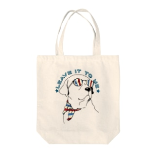 Leave it to me Tote bags