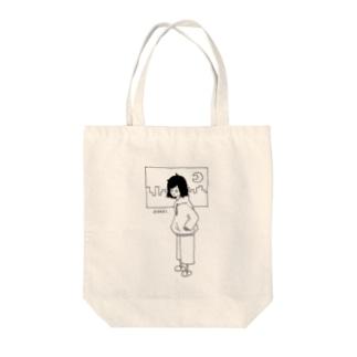 絶起ちゃん Tote bags