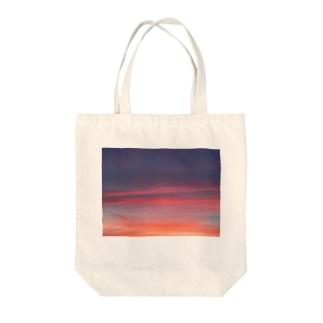 SORA〜夕焼け〜 Tote bags