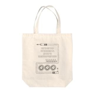 ギターっぽい柄 Tote bags