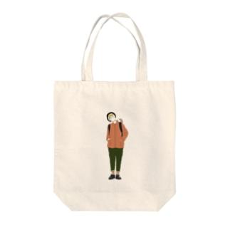 およびですか Tote bags