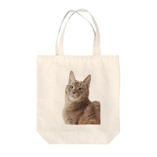 アビシニアンのいち夏ちゃん Tote bags