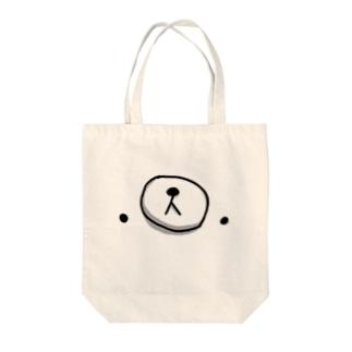 クマ・サピエンス Tote bags