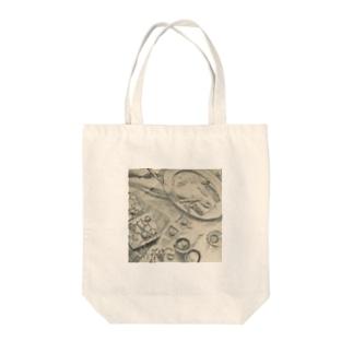 ピザトーストのある風景 Tote bags
