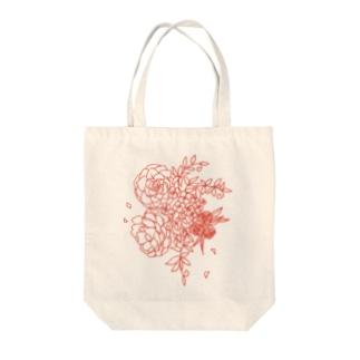 花々 Tote bags