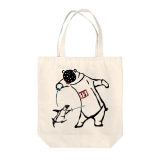 フェンシング Fencing Tote bags