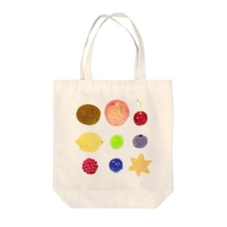 フルーツいっぱい Tote bags