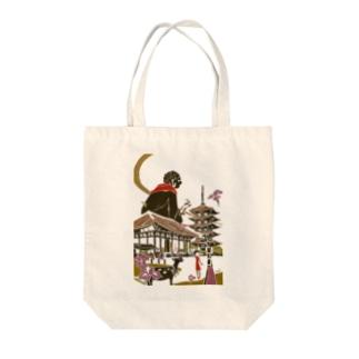 奈良 奈良 Tote bags