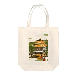 京都 金閣寺 Tote bags