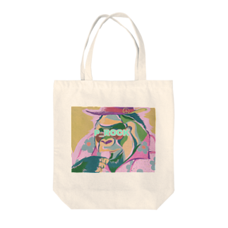 P_ROCKのマカロン食す Tote bags