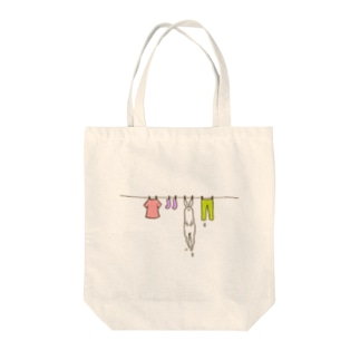 洗濯日和 Tote bags