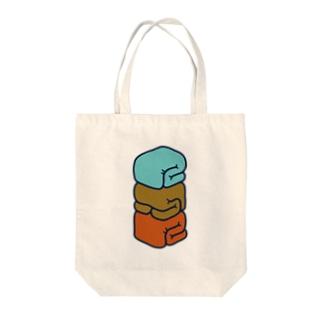 FUTON 2015 三段 Tote bags