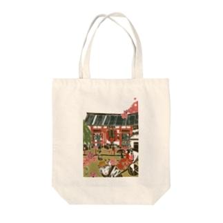 東京 浅草 Tote bags
