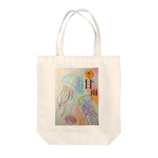 くらげ(甘雨ver.) Tote bags