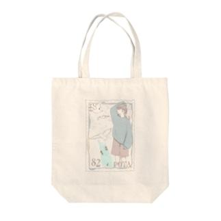 夏色切手 Tote bags