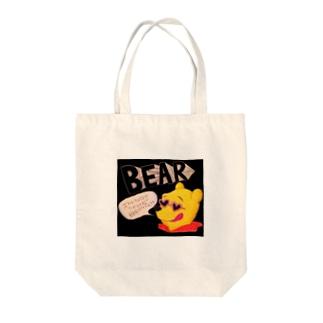 あやしいクマの妖精 Tote bags