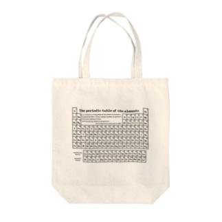 元素周期表(原子番号順):化学:学問・科学 Tote bags