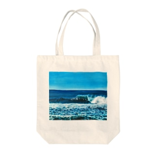 Gold Coast oil painting  Tote bags