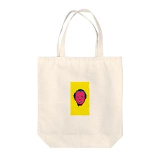 イケメン次郎くん Tote bags