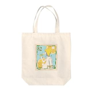 レモン切手 Tote bags